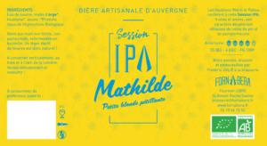 Etiquette bière Mathilde